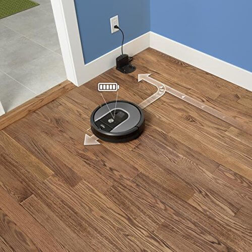 irobot roomba 960 robotersauger ladestation
