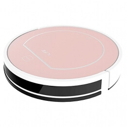 ILIFE V7S Smart Robotic Vacuum Cleaner - ROSE GOLD - 1