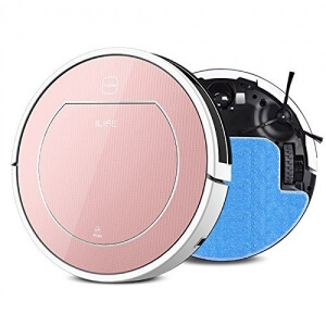 ILIFE V7S Smart Robotic Vacuum Cleaner - ROSE GOLD - 3